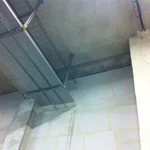 maçonnerie plafond