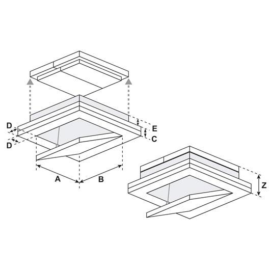trappe coupe feu horizontale ei60