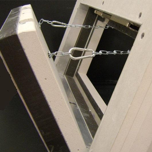 trappe coupe feu verticale ei 120