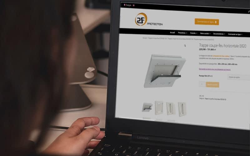 boutique en ligne 2f protection produits coupe feu